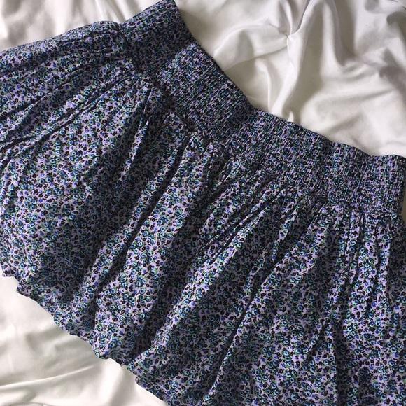 PINK Victoria's Secret Dresses & Skirts - 💥 3/$25 VS Pink Purple Floral Skirt Sz M   D18